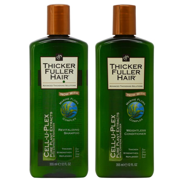 Thicker Fuller Hair 12-ounce Revitalizing Shampoo & Weightless Conditioner Duo 30097572