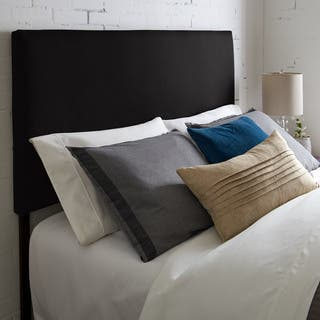 Humble + Haute Kalix Suede Black Upholstered Headboard|https://ak1.ostkcdn.com/images/products/18057157/P24220840.jpg?impolicy=medium