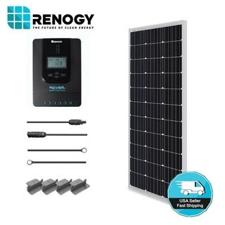 Link to Renogy 100W 12V Mono Solar Starter Kit w/ MPPT Charge Controller Similar Items in Hardware & Accessories
