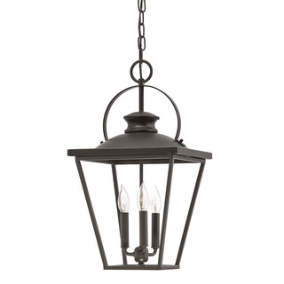 Aztec Lighting Transitional 3-light Olde Bronze Pendant