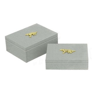 Three Hands Set Of Two Boxes- Mint