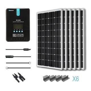 Renogy 600W 24V Mono Solar Starter Kit w/ MPPT Charge Controller