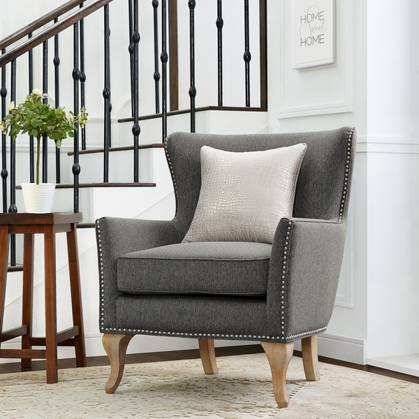 Grey Living Room Chairs Shop Online At Overstock