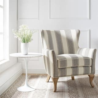 buy upholstered living room chairs online at overstock com our