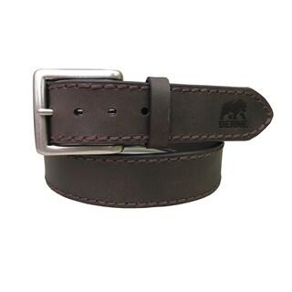BERNE Men's 38MM Genuine Leather Belt