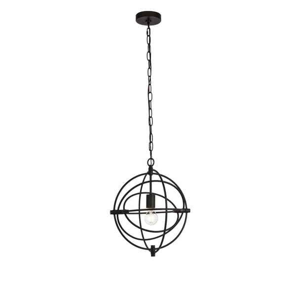 Colby Collection Pendant D14 H16.3 Lt:1 Black Finish