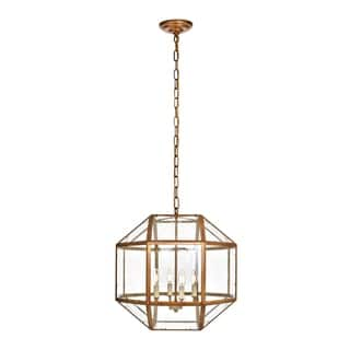 Caro Collection Vintage Gold Finish Iron Glass 3-light Pendant https://ak1.ostkcdn.com/images/products/18057658/P24221257.jpg?impolicy=medium