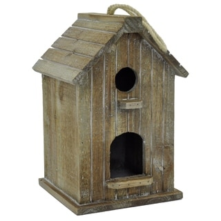 Wood Hanging Bird House