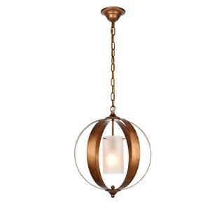 Marion Collection Gold Iron and Glass 1-light Pendant https://ak1.ostkcdn.com/images/products/18057682/P24221314.jpg?impolicy=medium