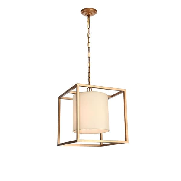 Mirin Collection Pendant D16 H18 Lt:1 Gold Finish