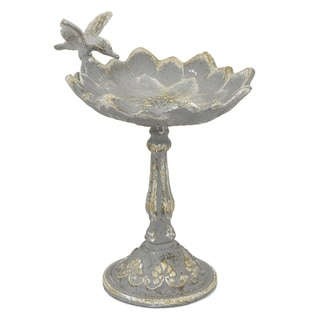 Metal Birdfeeder - Antique Gre