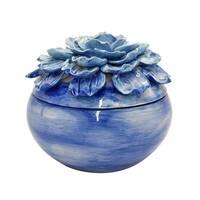 Three Hands Flower Ceramic Box