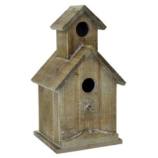 Wood Wall Bird House