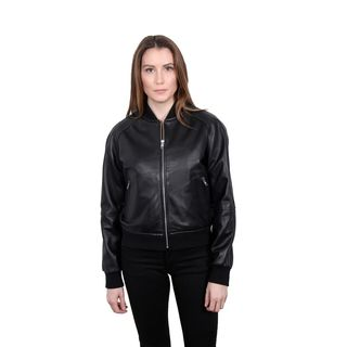 William Rast Genuine Leather Varsity Jacket