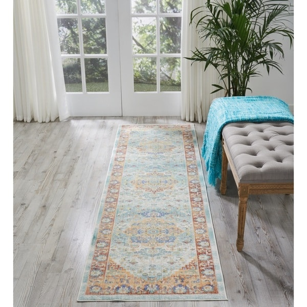 Nourison Cambria Multicolor Runner Rug (2'3 X7'10 )