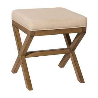 Hillsdale Furniture Somerest Vanity Bench in Driftwood (As Is Item) https://ak1.ostkcdn.com/images/products/18057875/P91026454.jpg?impolicy=medium