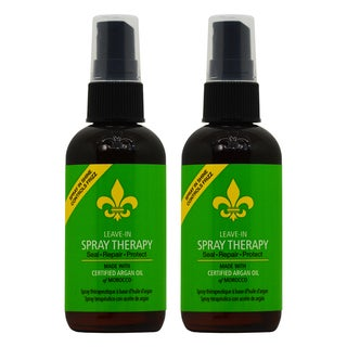 Dermorganic Leave-in 3.4-ounce Argan Oil Therapy Spray (Pack of 2)