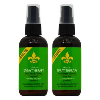 Dermorganic Leave-in 3.4-ounce Argan Oil Therapy Spray (Pack of 2)|https://ak1.ostkcdn.com/images/products/18057915/P24221467.jpg?impolicy=medium
