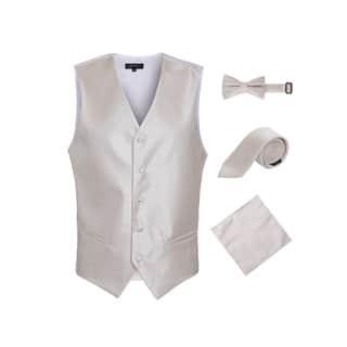 Ferrecci Mens Diamond Pattern 4pc Vest Set|https://ak1.ostkcdn.com/images/products/18057931/P24221506.jpg?impolicy=medium