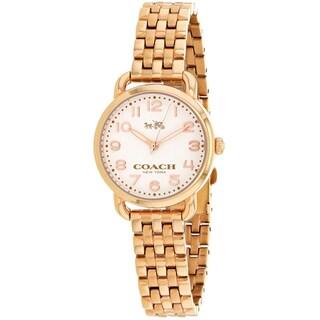 Coach Women's 14502242 Delancey Watches