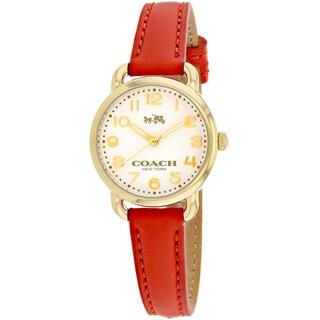 Coach Women's 14502253 Delancey Watches