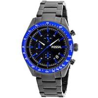 Fossil Men's BQ2118 'Classic' Chronograph Black Stainless Steel Watch