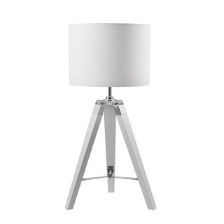 Euro Style Collection Ossa 30 Inch Wood Legs Table Lamp
