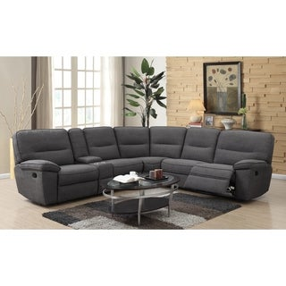 Canterbury 3 Piece Fabric Sectional Sofa Set By