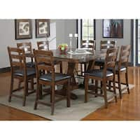 Emerald Home Castlegate Brown Gathering Table