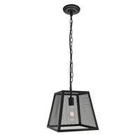 Talon Collection Pendant D11.8 H12.8 Lt:1 Matte Black Finish