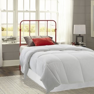 Fashion Bed Group Kids Nolan Metal Headboard in Candy Red (2 options available)