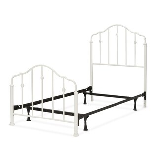 Fashion Bed Group Kids Lorna Metal Bed in White