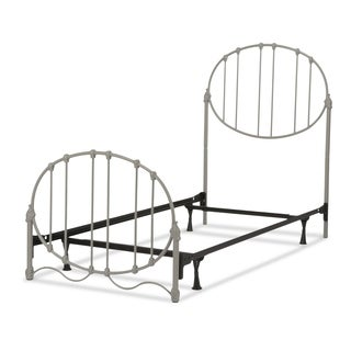 Fashion Bed Group Kids Emory Metal Bed in Soft Grey