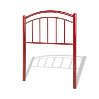 Fashion Bed Group Kids Rylan Metal Headboard in Tomato Red