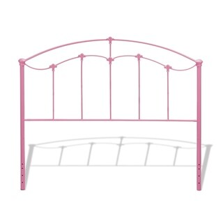 Fashion Bed Group Kids Amberley Metal Headboard in Cotton Candy Pink (2 options available)