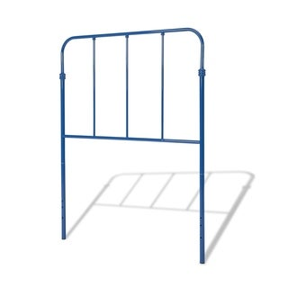 Fashion Bed Group Kids Nolan Metal Headboard in Colbalt Blue