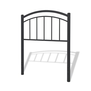 Fashion Bed Group Kids Rylan Metal Headboard in Black Ink (2 options available)