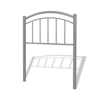 Fashion Bed Group Kids Rylan Metal Headboard in Shadow Grey