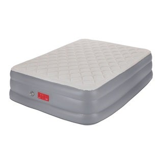 Coleman Supportrest Elite Pillow Top Airbed with Pump - Queen
