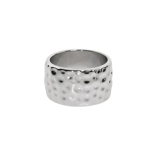 Eternally Haute Hammered Cigar Rings (2 options available)