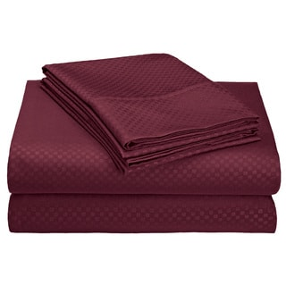 Ultra-Luxe Double-Brushed Microfiber Embossed Sheets