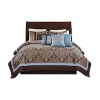 Wonder Home Winston 10PC Jacquard Comforter Set
