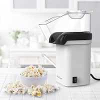 Hot Air Popcorn Popper– Electric Popcorn Maker Machine for Healthy Oil-Free by Classic Cuisine