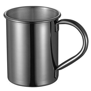 Visol Elise Gun Metal Finish Moscow Mule Mug- 13 Ounce - Silver