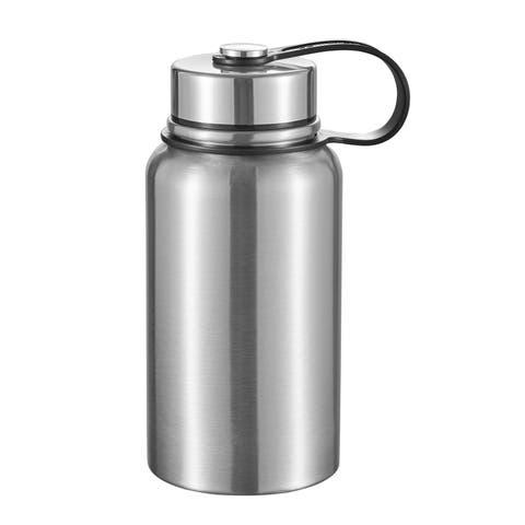 Visol Seeder Stainless Steel Vacuum Water Bottle- 20 Ounce - Silver
