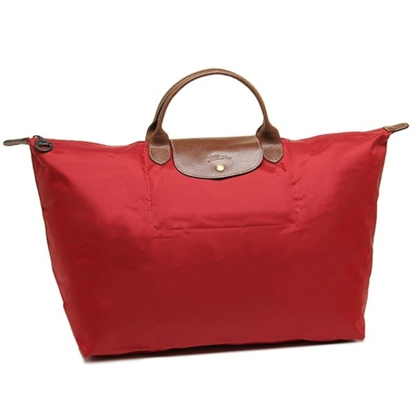 2737f549a798 Shop Longchamp Le Pliage Large Travel Bag-Red - Free Shipping Today ...