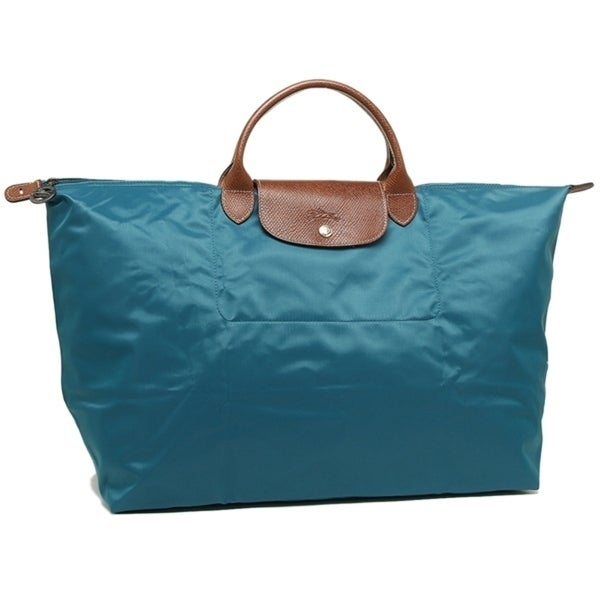 156db95996f8 Shop Longchamp Le Pl 18 Travel Bag-Peacock - Free Shipping Today ...