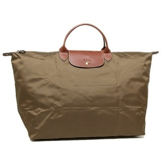 Longchamp Le Pl 18 Travel Bag-Khaki