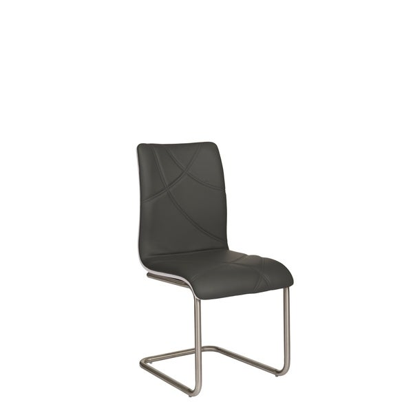 Somette Nora 2 Tone Chair with Horseshoe Base, Set of 2