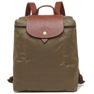 Longchamp Backpack-Khaki